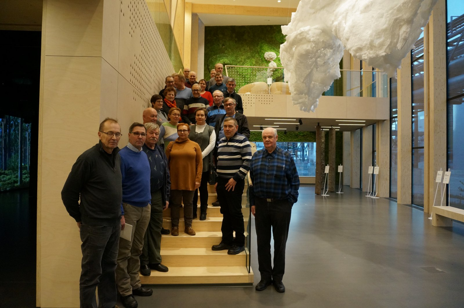 Äänekosken biotuotetehtaalla 22.11.2018